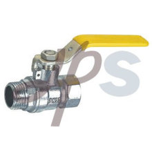 латунь mxf и газа шаровой кран EN331 стандарт