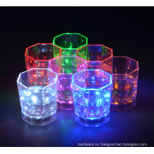 OEM Colorful LED Sensor Shining Drinking Cup for Promotion