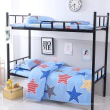 Capa de edredon de linho conjunto de cama conjunto de cama