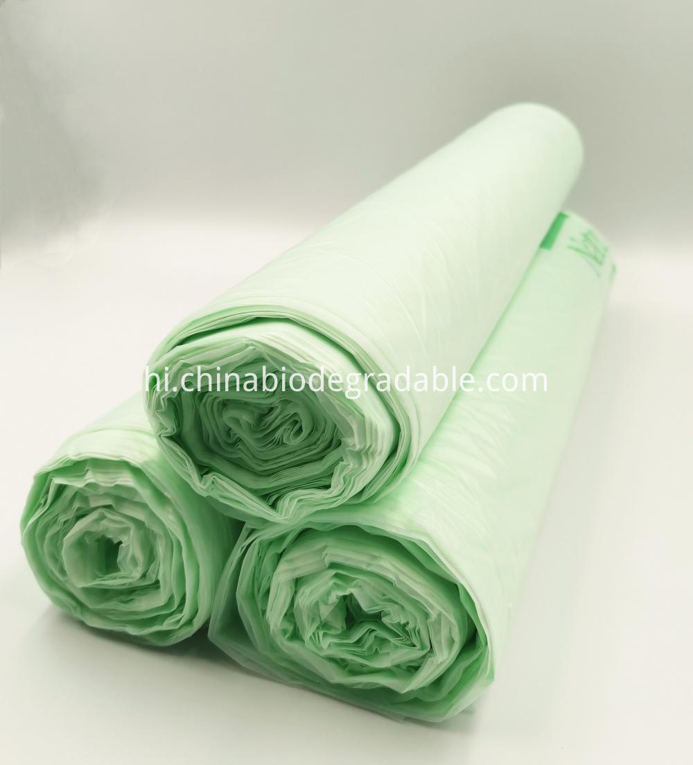PLA 100% Biodegradable Compost Garbage Bags