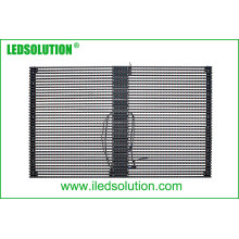 P25 Outdoor Transparent LED Curtain Display for Fixed Installation