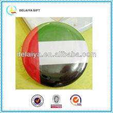 The United Arab Emirates flag tin badges