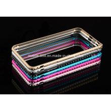 El tope de aluminio diamante de lujo más nuevo para iPhone 6