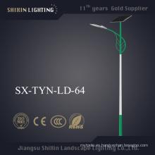 Luz de calle solar al aire libre de 6-10m LED con Ce aprobado