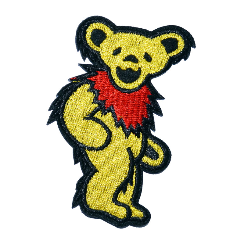 Yellow Grateful Dead Patch