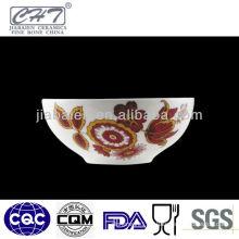 A073 Hot sale good quality design ceramic dessert bowl