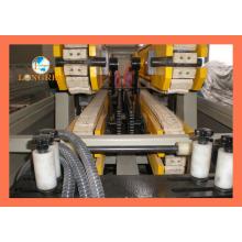 Línea de producción de tubería doble de PVC para aguas residuales