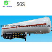 Полуприцеп контейнера для жидкого цистерны Lco2 / Lar
