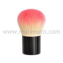 Kabuki Brush Face Escova em Preto Ferrule