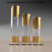 20ml 30ml flacon de presse Airless de 50ml en aluminium