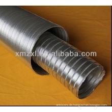 Aluminium-Flexrohr, flexiblen Schlauch, flexible hitzebeständig Schlauchrohr