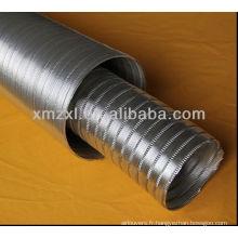 conduit flexible en aluminium, tuyau flexible, tuyau flexible résistant à la chaleur