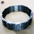 Hot Dipped Galvanized Clips Razor Barbed Blade Wire