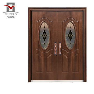 2018 металлическая входная дверь с наружным дизайном