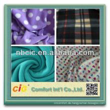 2013 neuer Stil aus Polyester Weihnachten Drucken Fleece-Stoff