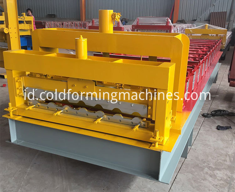 glazed tile roll forming machine 11