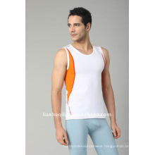 Seamless mens tank top and sports wear