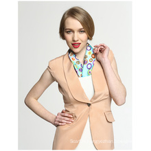 100% Silk Rainbow Candy Office Lady Pocket Square Print Scarf