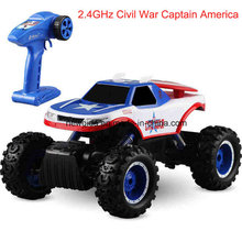 2.4GHz off-Road Climbing Captain America Motor Electric Toy Car