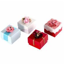 Wholesale Heart Shape Christmas Candy Baby Gift Decorative Box