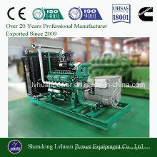 Biomasse-Generator mit Brennstoff aus Holz oder Holzvergasung