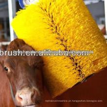 Escova quente do rolo da venda 2014 para a máquina do risco do gado da exploração agrícola da vaca