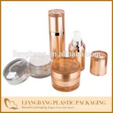 2015 nice cap with shining series jar cosmetic packaging