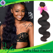7A Natural Virgin Brazilian Hair Wave Human Hair Extension