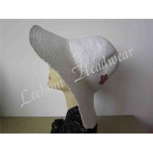 Fashion Leisure Lady Bucket Straw Sun Hat