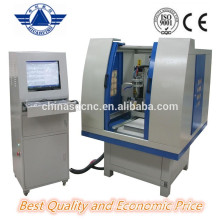 Big sale JK-6060 Carving Metal CNC Router with Dust cover