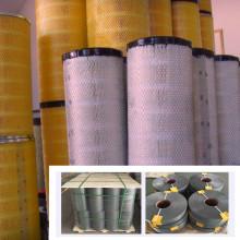 Air filter expanded metal mesh