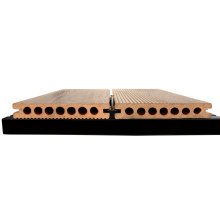 Decking antideslizante al aire libre del wpc decking de madera del compuesto de madera