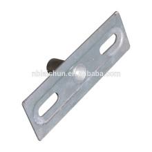 Componentes de peças prensadas e peças estampadas de chapa metálica com furos