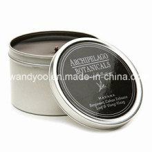 Einzigartige duftende Soja Tin Candle
