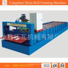 China-Qualitätshersteller Dixin-Dachziegel-Rollformmaschine