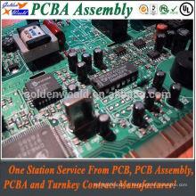 PWB da fonte de alimentaço 12v com pcba do smd da espessura da placa do pcb de 2mm