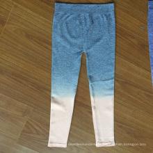 Seamless Yarn Dyed Ladies Leggings For Sporting