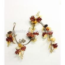 2017 Nueva guirnalda floral de la caída de la cosecha de la alta calidad del diseño