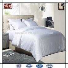 Гуанчжоу Фабрика Непосредственно Поставка Чистый Белый 60-х годов Luxury Cotton Hotel Beddings