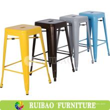 2016 Novos produtos Replica Metal Folding Chair Vintage Industrial Metal Side Chair