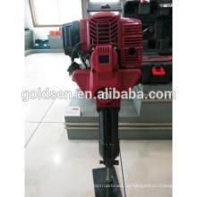 Heiße Verkäufe 1700w 2.4HP 52cc Gas angetriebene Jack-Hammer-bewegliche Benzin-Straßenbrecher-Maschine