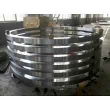 C45, 50mn de Q + T, 42CrMo4 Q + T, AISI 1050 Q + T anillos internos y externos para rodamientos de anillos giratorios