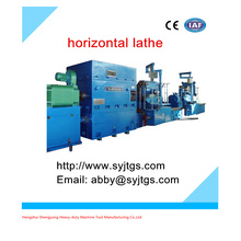 Machine de tour CNC de type horizontal usagée (prix de la machine à tour horizontal lourd) pour les ventes en chaussette