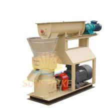 Electric Flat Die Feed Pellet Mill with Capacity 600-800 Kg/Hr
