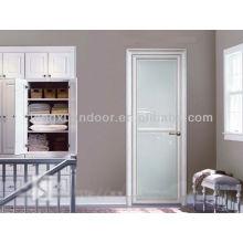 Aluminum Swing door, full glass bathroom door, glass toliet doors