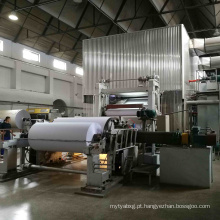 Máquina de fabricação de papel Fourdrinier para papel A4