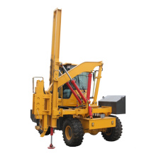 High Frequency Hydraulic Highway Gasoline Post  Road Pile Driver