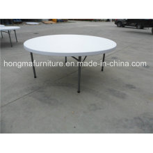 6FT Round Folding Table for Restaurant Use