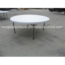 Mesa giratória redonda de 6FT para uso no restaurante
