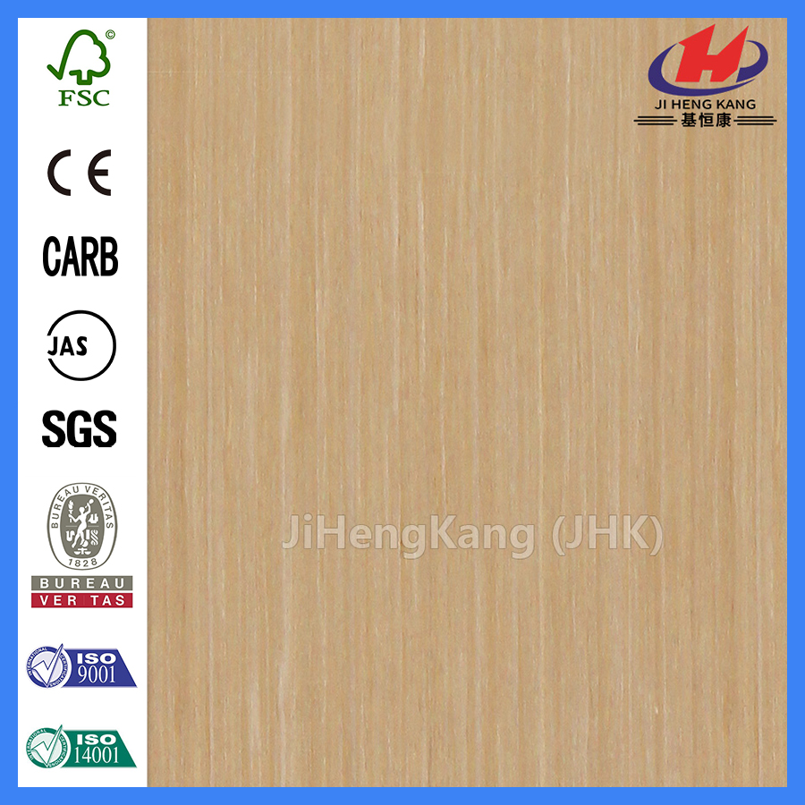 JHK-001 Engineered Weißeiche Furnier Holz Türhaut
